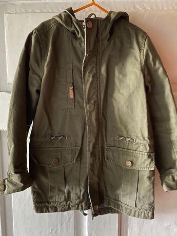 Modna kurtka dla chłopca w kolorze khaki, reserved 122