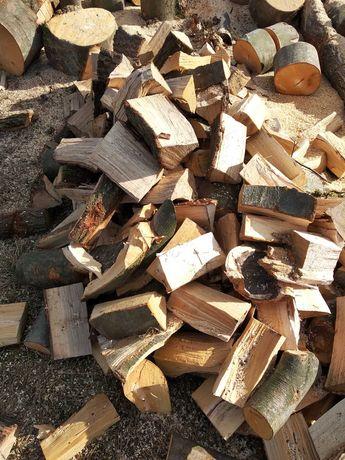 Drewno kominkowe łupane