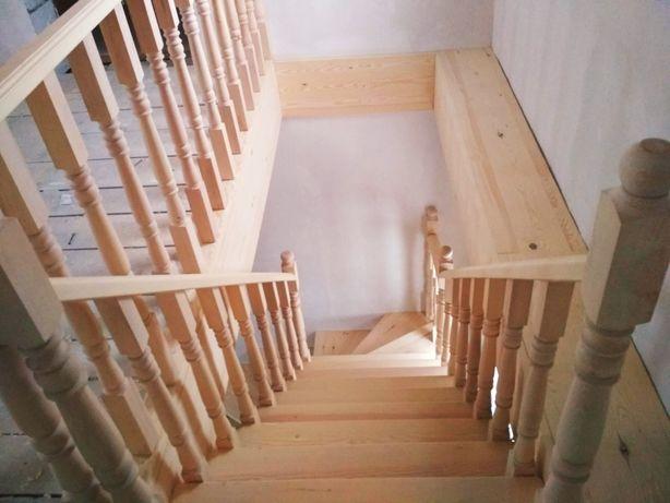 Лестница на второй этаж замер изготовление и установка
