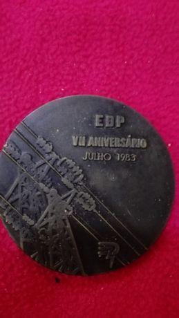 Medalha Comemorativa EDP - portes grátis