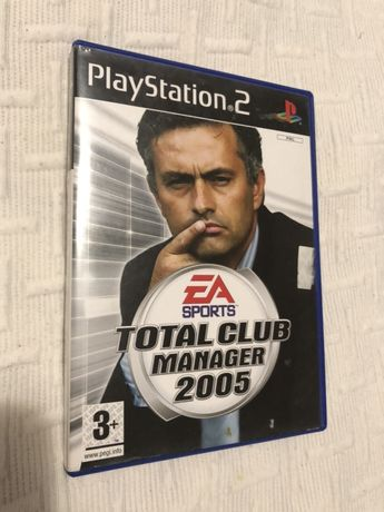 Total Club Manager 2005 ps2 PlayStation 2