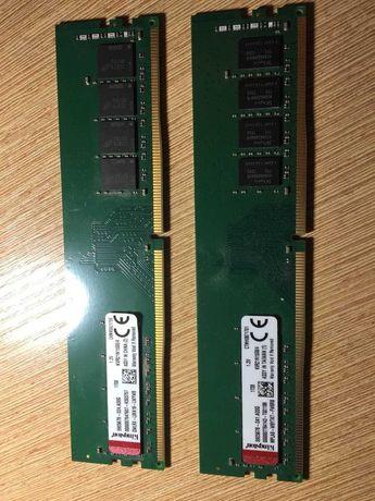 Оперативная память 8GB(2 планки Kingston DDR4 2133 MHz (KVR21N15S8/4))