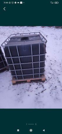 Mauzer baniak paliwo 1000l woda paletopojemnik mauzery IBC RSM 1000 cz