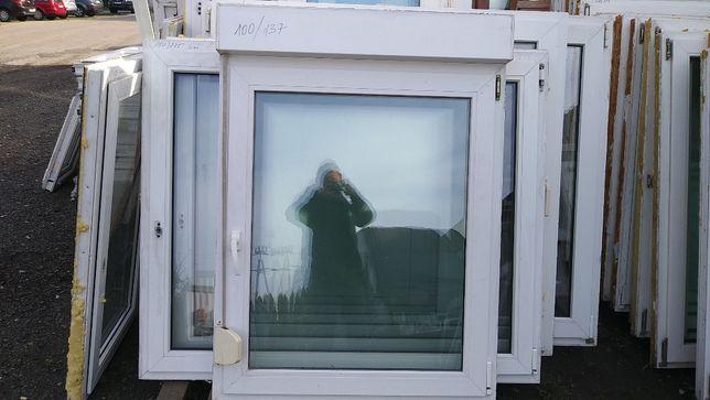 okno pcv 100/137 z roletą