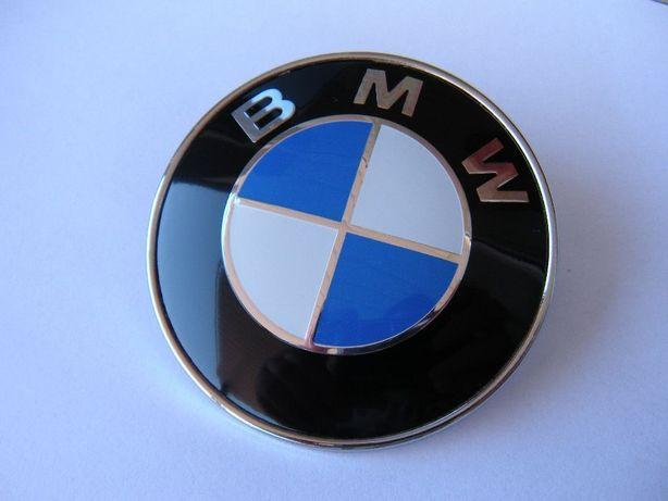 Эмблема на багажник ( 78 мм ) BMW / E31 E39 528 E53 E65 E66