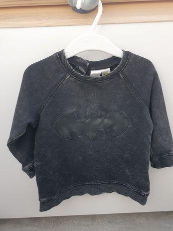 Bluza Batman poszukiwana h&m przecierana czarna r.80