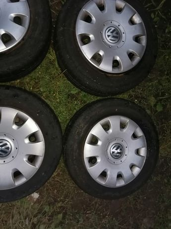 Koła, opony felgi VW Passat stalowe, kołpaki