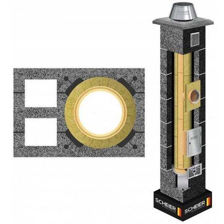 Komin Systemowy 200 + 2wentylacje 8 mb komin kominy systemy