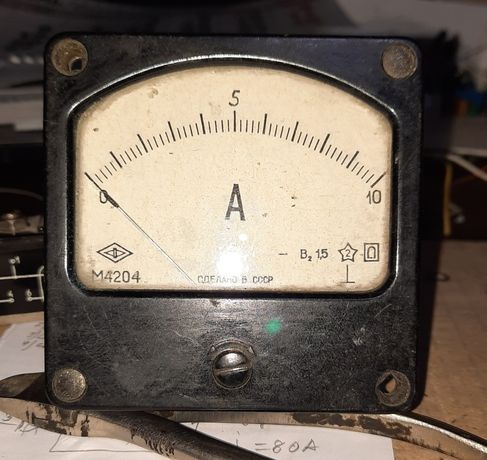 Измерительный прибор постоянного тока