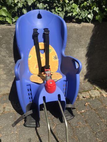 Fotelik rowerowy dla malucha