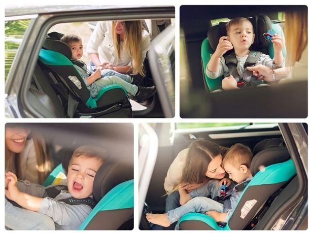 Fotelik samochodowy Lionelo Sander ISOFIX 0-36kg Pochylany !!! 4KOLORY
