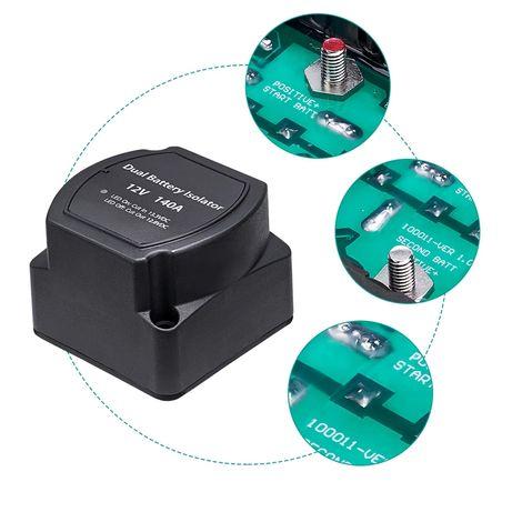 Separator akumulatorów, izolator baterii kamper itp