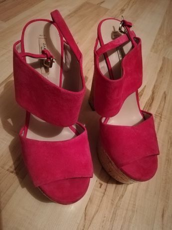 Sandały Zara rozmiar 38