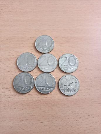 Sprzedam monety 20 zł 1989 rok