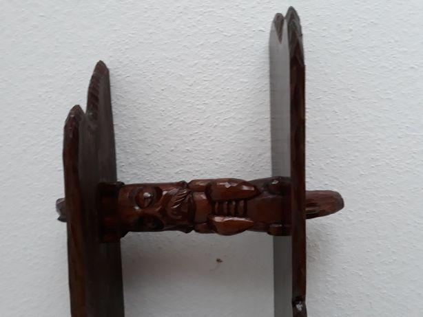 Półka rzeźbiona art. antyk