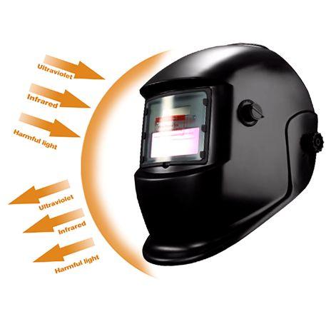 Máscara de Soldar Eletrônica Solar com Auto Escurecimento