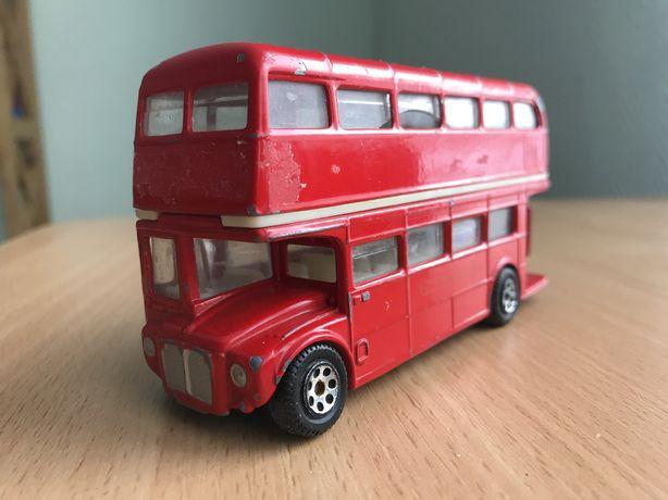 Лондонский автобус Doubledecker. Игрушка. Металл. Из Великобритании.