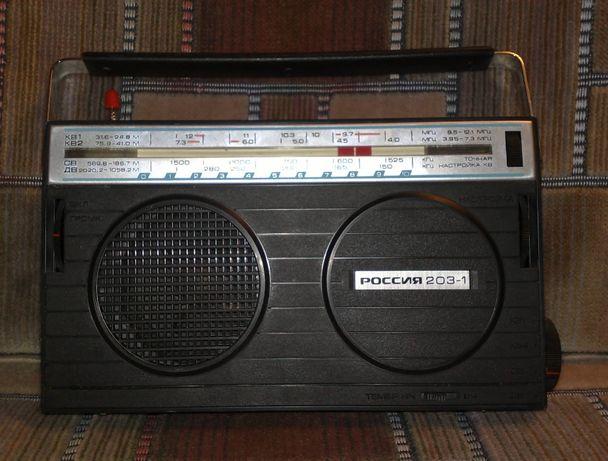 Новый радиоприемник Россия 203-1