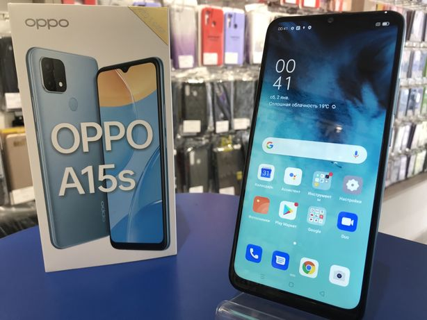 Oppo A15S 4/64GB Blue NEW