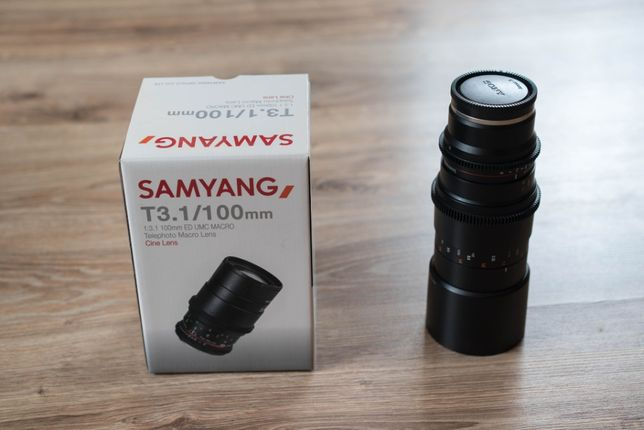 Samyang 100mm t3.1 sony e-mount macro