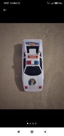 Машинка игрушка полицейская машина