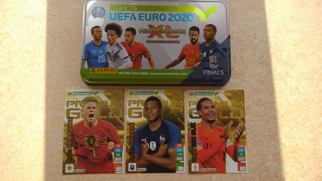 Karty Panini Limited Edition Adrenalyn XL Road to UEFA Euro 2020