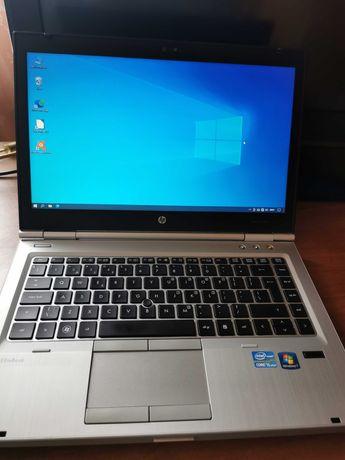 Laptop hp elitebook 8460p Intel Core i5 4gb tam 250GB HDD Win 10