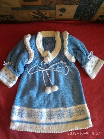 новогодний костюм - снегурочка