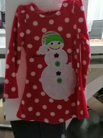 Sukienka na święta i okres świąteczny (unikatowa)