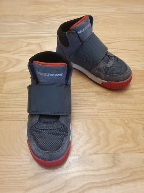 Wysokie sneakersy Skechers rozm.30