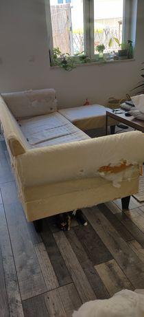 Sofá de 3 lugares com chaise longue - Ikea - Ektorp