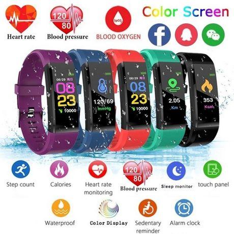 Smartwatche smartbandy Ciśnieniomierze krokomierze liczą kalorieNOWE