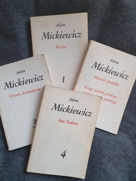 Adam Mickiewicz Zestaw Pan Tadeusz Dziady Lektury czytelnik warszawa