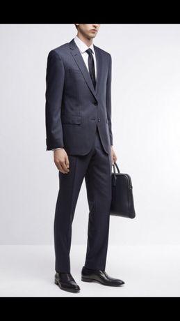 Hugo boss, новый пиджак, 100% нат шерсть, 40 L