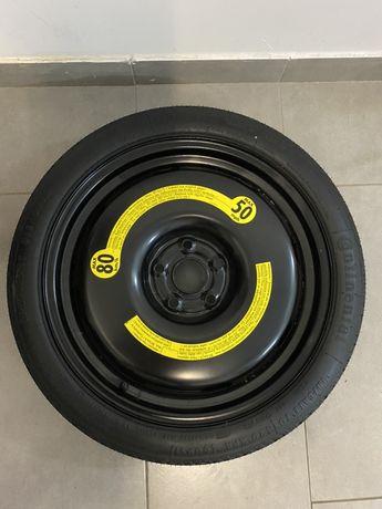 Nowe koło dojazdowe zapasowe 125/70 R18 18 cali Audi