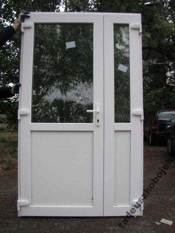 Drzwi PCV 180 X 210 białe sklepowe KLAMKA GRATIS od ręki RYBNIK