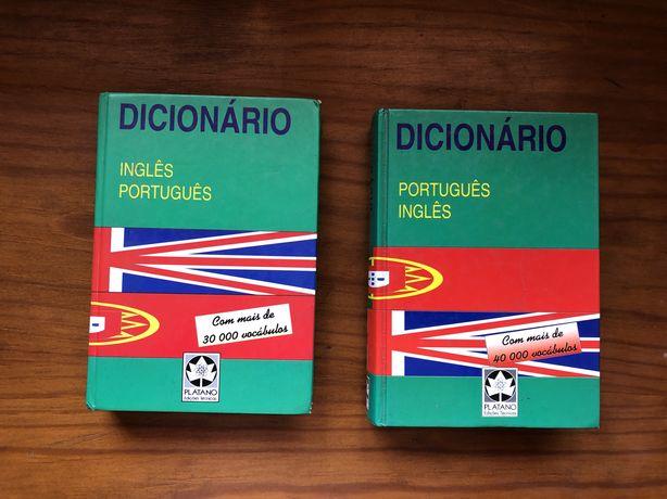 Dicionários pt-ing e ing-pt