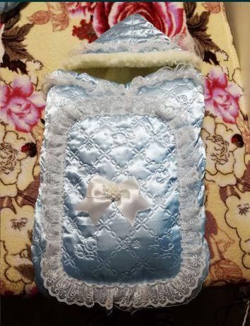 Конверт, одеялко, одеяло, зимний конверт