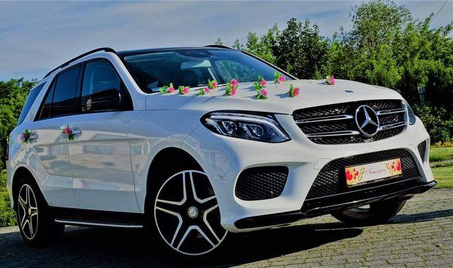 Samochód do ślubu Mercedes GLE AMG Łuków Węgrów Radzyń Siedlce.