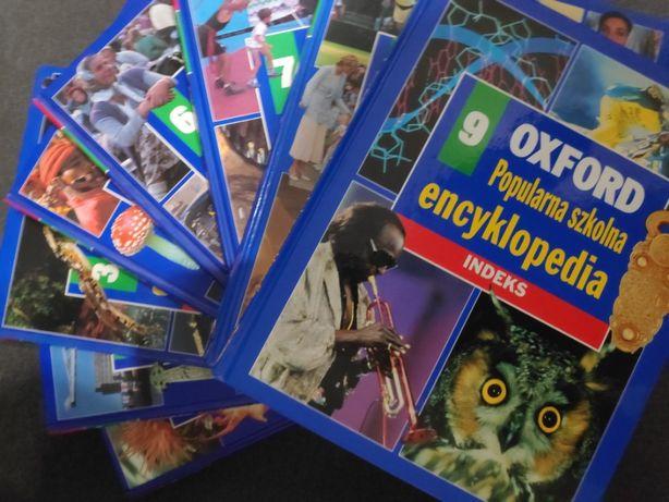 Popularna szkolna encyklopedia Oxford (wszystkie tomy 1-9)