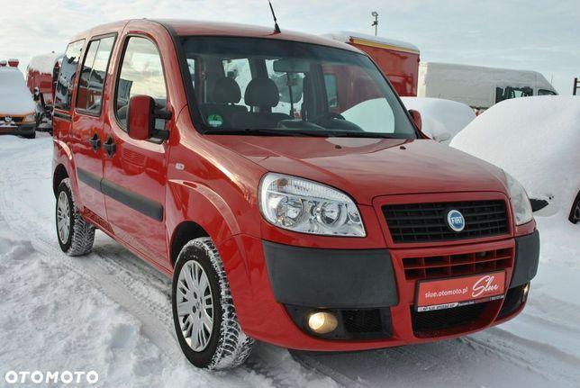 Fiat Doblo Klimatyzacja 5 Miejsc Halogeny Drzwi Przesuwane Obie