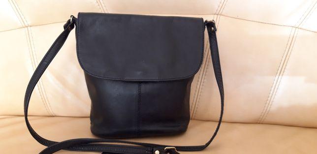 Skórzana torebka -skóra naturalna