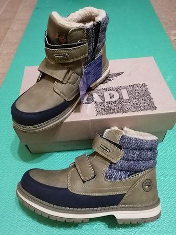 Зимові черевички РОЗПАРОВКА дешево!!!