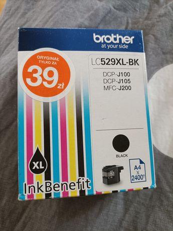 Nowy tusz do drukarki Brother czarny