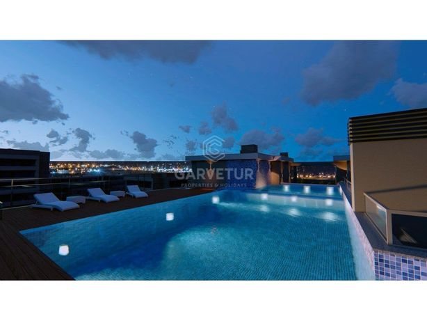 Apartamento T2, piscina na cobertura, Faro, Algarve