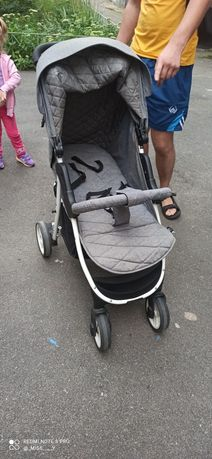 Прогулочная коляска 4 baby rapid