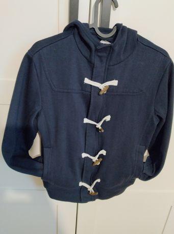 Bluza chłopięca 152 rozpinana 11 12 z kapturem wiosenna jak kurtka