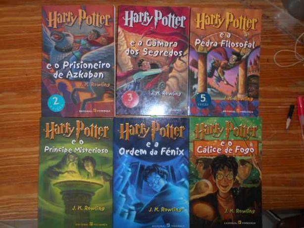 Livros da saga Harry Potter
