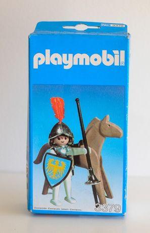 Playmobil 3379 Cavaleiro com cavalo - Artigo de Colecção