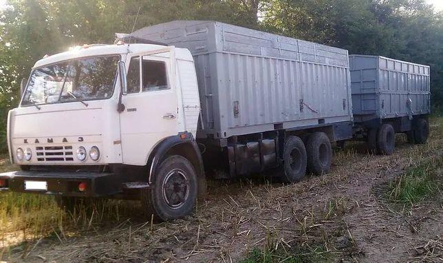 КамАЗ 53212 1992 з причіпом